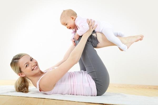 Восстановительная гимнастика после родов, упражнения для мамы после родов, как восстановиться после родов, упражнения после родов, гимнастика после родов