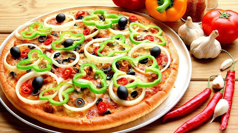 295 Pizza HD Wallpapers  Background Images  Wallpaper Abyss