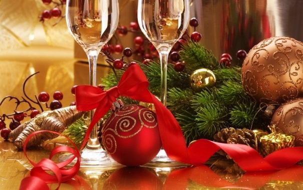 Сервировка новогоднего стола 2014, как украсить новогодний стол, как украсить новогодний стол 2014