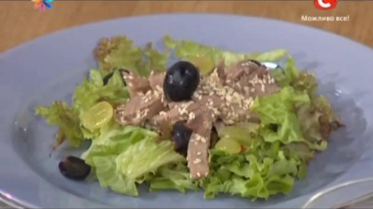 Салат с языком и три вида соуса, салат с языком рецепт, рецепты заправок для салата, рецепты соусов к салату, соус от Светланы Фус, соус от Аниты Луценко, соус от Евгении Баглык