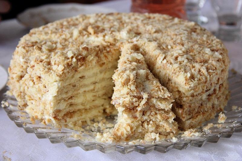 Все буде смачно, как приготовить наполеон, наполеон рецепт, торт наполеон рецепт, Татьяна Литвинова наполеон, Павел Костицын наполеон