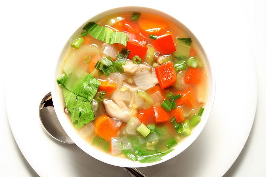 рецепты диетических блюд, суп из запеченных овощей от Сергея Калинина, сергей калинин суп, диетический суп рецепт, Жизнь после похудения,