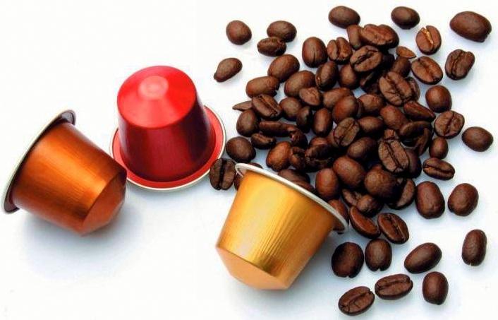 особенности кофе в капсулах, как готовить кофе в капсулах