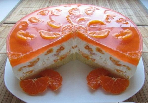 торт-суфле с мандаринами и шампанским рецепт, как приготовить торт-суфле, Аркадий Войтюк торт-суфле