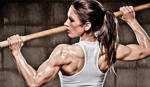 женский бодибилдинг, здоровый образ жизни