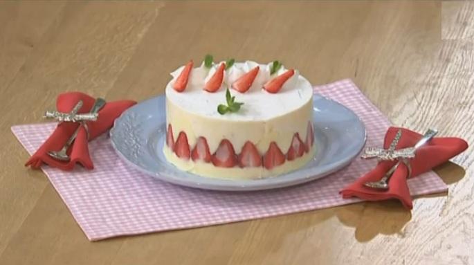 Лиза Глинская рецепты, десерт фразье рецепт, десерт фразье от лизы глинской, как приготовить торт фразье