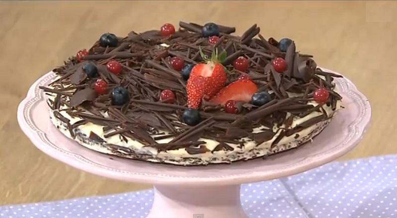 шоколадный торт с завитками рецепт, шоколадный торт Эрны Кефер рецепт, Татьяна Литвинова рецепты, десерт керфе рецепт