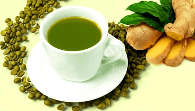 зеленый кофе с имбирем польза