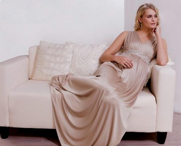 как выбрать платье для беременной, как выбрать вечернее платье