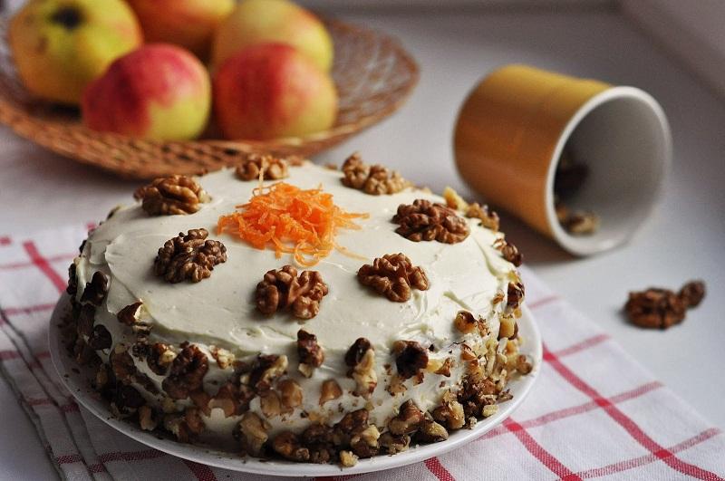 торт с геркулесом от тани литвиновой, морковный торт от литвиновой, Татьяна Литвинова рецепты, торт из геркулеса рецепт
