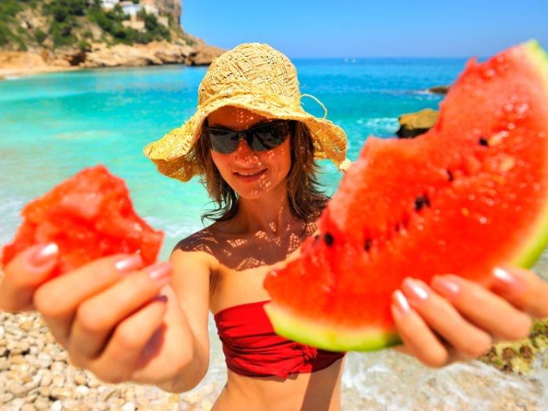 что поесть на пляже, чем перекусить на пляже