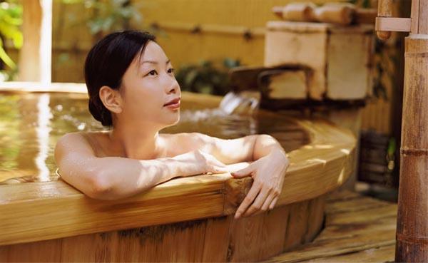 офуро, японская баня