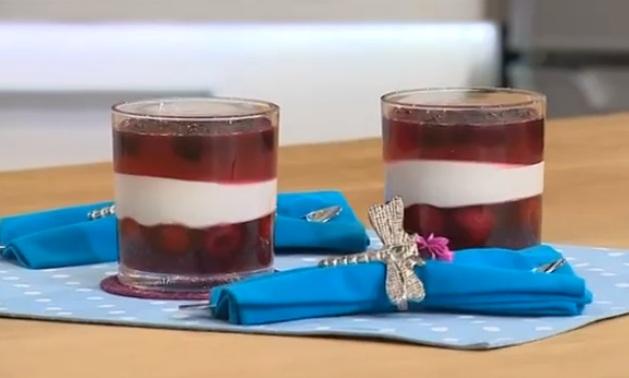 рецепты татьяны литвиновой, творож-желейный десерт рецепт, ягодная икра  рецепт, литвинова творожно-желейный торт