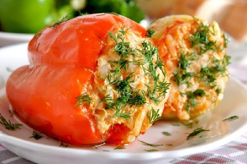 Все буде смачно, все буде смачно блюда из перца, все буде смачно фаршированный перец, рецепты Сергея Калинина,