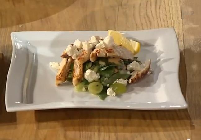Эктор Хименес-Браво рецепты, салат от эктора, низкокалорийный салат рецепт