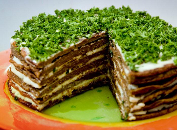печіночний торт рецепт