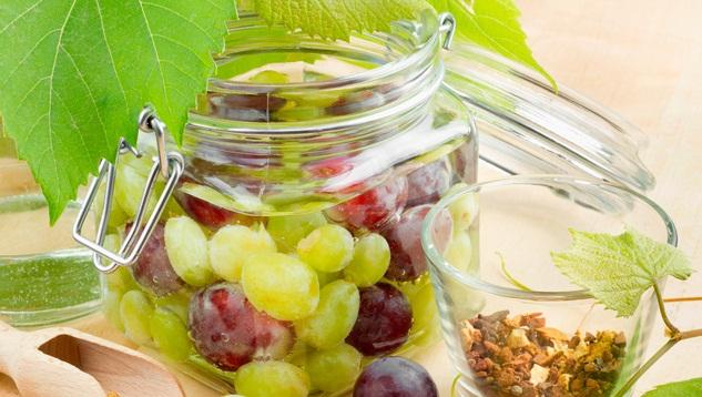 маринованный виноград рецепт, моченый виноград рецепт, виноградный уксус рецепт, рецепты Аллы Ковальчук,