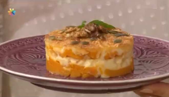 Винченцо Барба рецепты, тыквенная запеканка рецепт, запеканка из тыквы рецепт