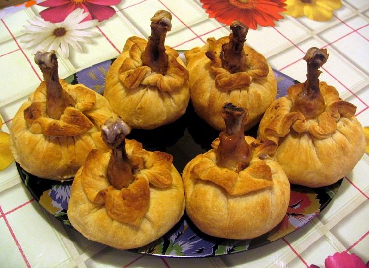 приготовление куриной голени в духовке