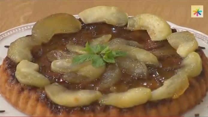 яблочный пирог рецепт, яблочный пирог карамелью рецепт, яблочный пирог винченцо барба, Винченцо Барба рецепты,