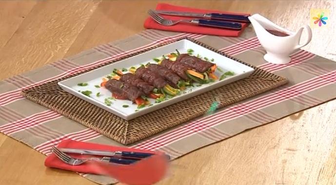 роллы из телятины с овощами рецепт, роллы от игоря мисевича, игорь мисевич рецепты,