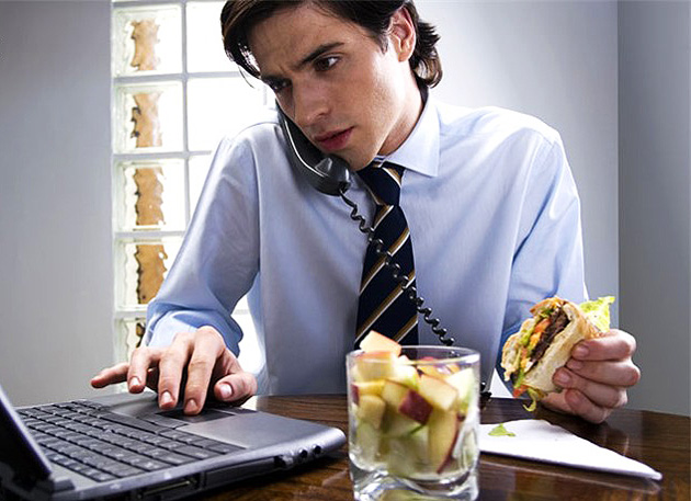 еда в офисе