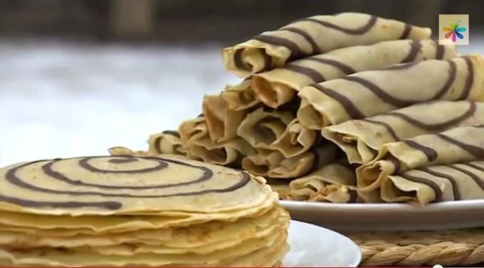 полосатые блинчики от лизы глинской, полосатые блинчики рецепт, блины рецепты, как замесить тесто на блины, как приготовить блины,