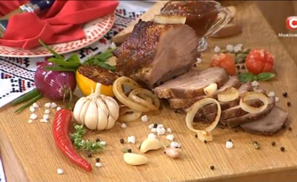 как приготовить буженину, рецепт буженины, самвел адамян рецепты