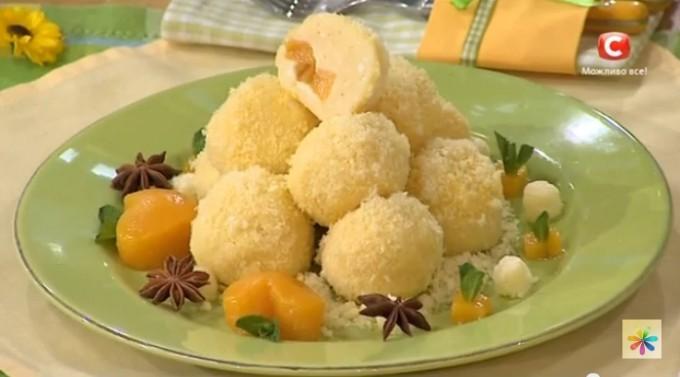 блюда из творога, вареники с творогом рецепт, творожные солнышки рецепт