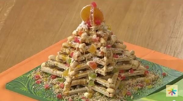 съедобная елка рецепт, торт елка рецепт