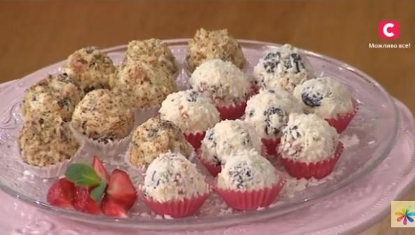 Алла Ковальчук рецепты, как приготовить домашние конфеты, конфеты в домашних условиях, рисовые конфеты рецепт