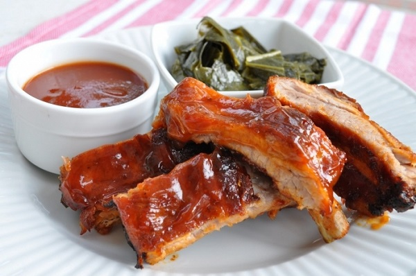 свиные ребрышки для пикника рецепт, свиные ребрышки на огне рецепт, Эктор Хименес-Браво рецепты,