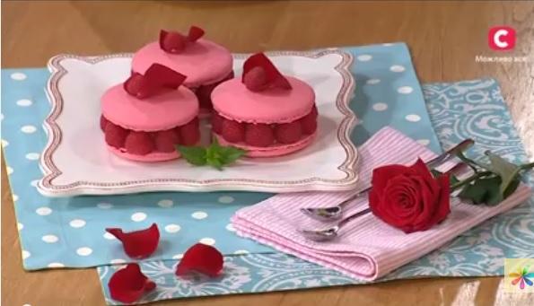 Лиза Глинская рецепты, десерт с лепестками роз рецепт, исфахан рецепт