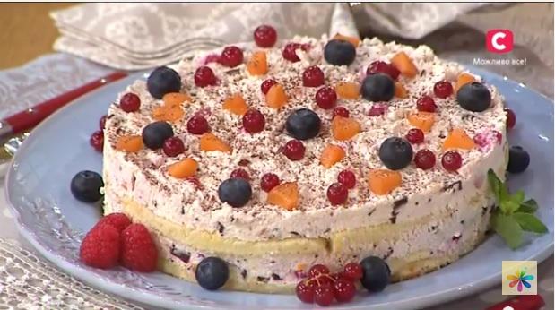 кассата рецепт, творожно-фруктовый десерт рецепт, Винченцо Барба рецепты,