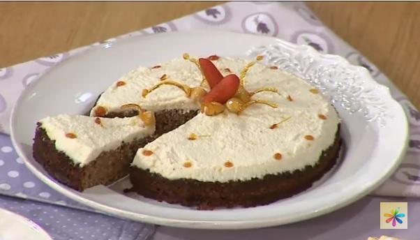 морковный торт глинская, морковный торт рецепт, Лиза Глинская рецепты,