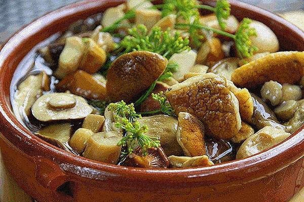 алла ковальчук грибы, маринованные грибы рецепт, Алла Ковальчук рецепты,
