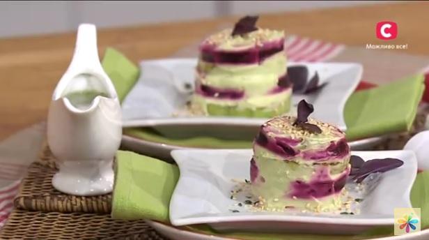 мильфей из кабачков рецепт