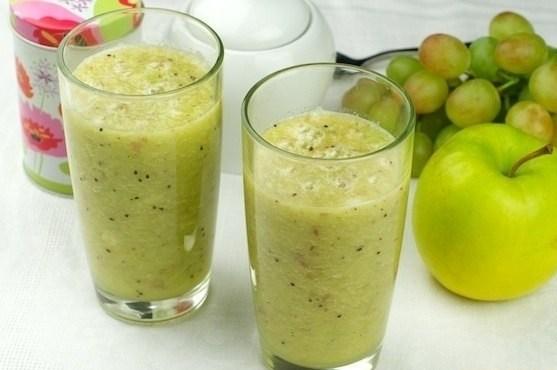 виноградно-яблочный смузи рецепт