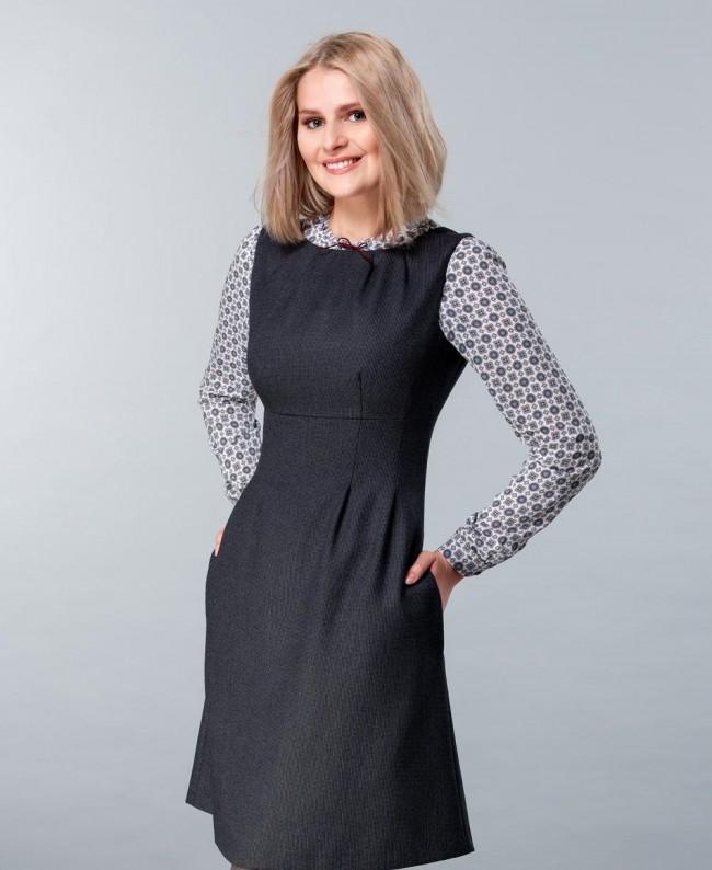 Купить Платье Сарафан Для Офиса