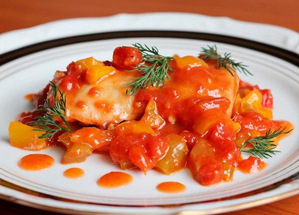курица в духовке рецепт, Сергей Калинин курица,