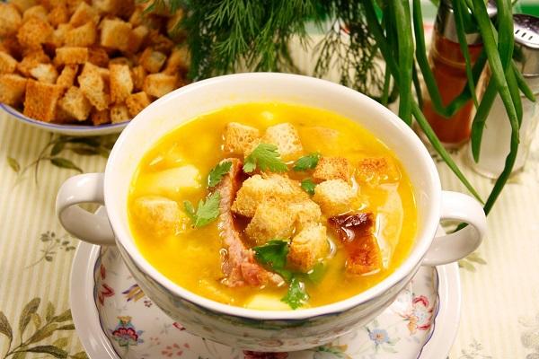 гороховый суп рецепт, Сергей Калинин рецепты,