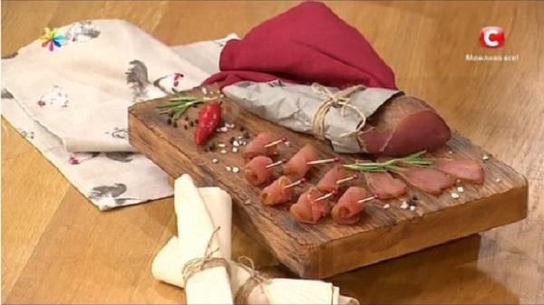 домашний балык рецепт, Алла Ковальчук рецепты,