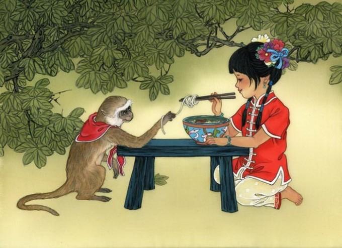 где встретить новый год, год обезьяны как встречать