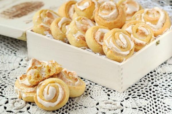 Все буде смачно, все буде смачно творожное печенье, творожные сочники рецепт, печенье розочки