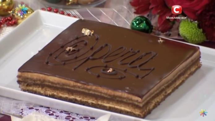 торт опера рецепт, Лиза Глинская рецепты,