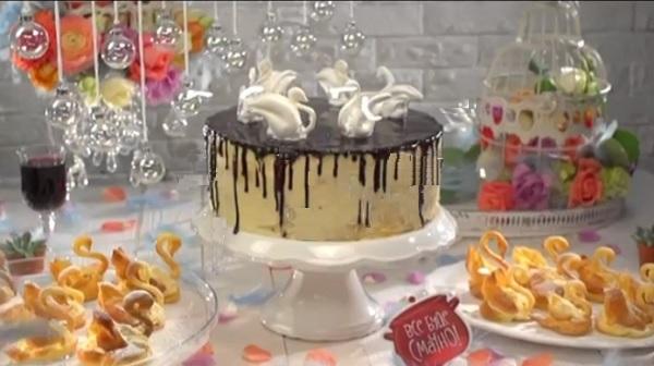 Все буде смачно, все буде смачно торт лебединое озеро, торт лебединое озеро рецепт