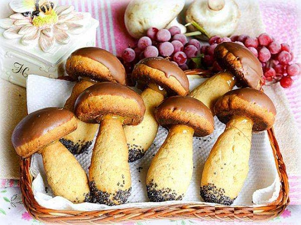 Все буде смачно, все буде смачно печенье грибочки, печенье грибочки рецепт