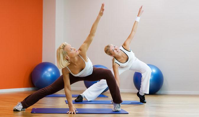 спорт похудение