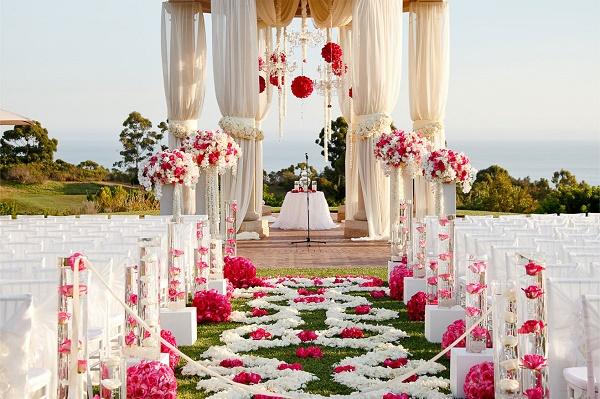 флористика свадьба